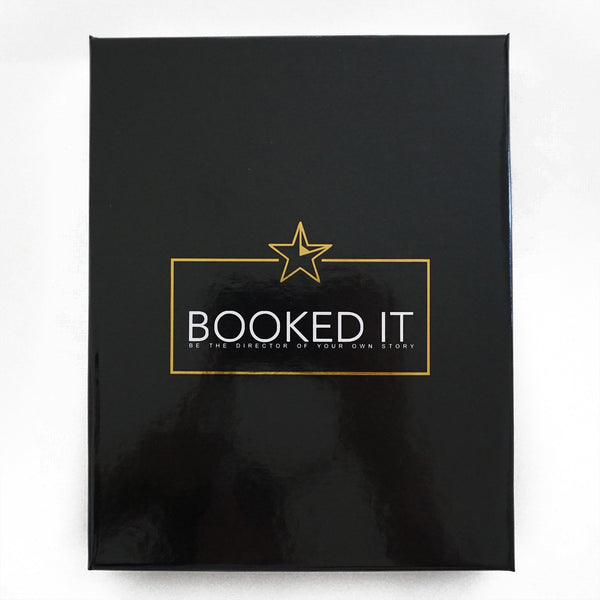 Gift Box. Booked It Day Planner for Performers- Actors/ Dancers/ Singers. Spiral bound.