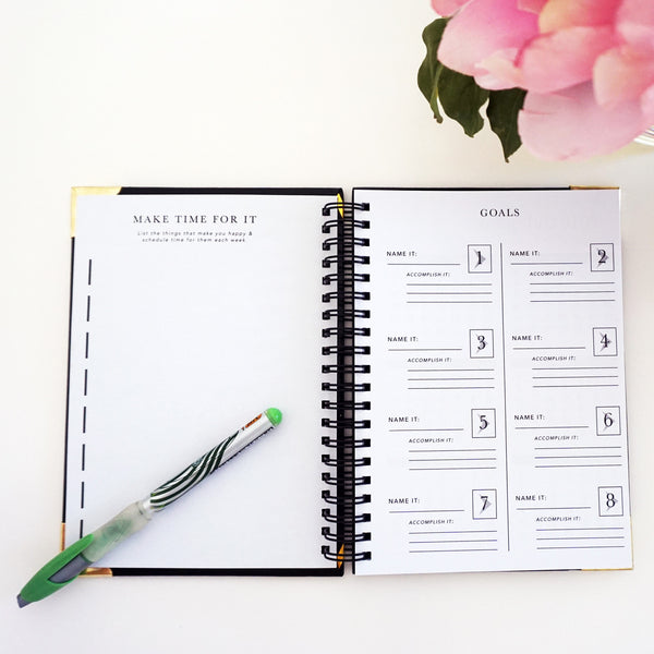 Booked It- The Day Planner Designed Specifically for Performers