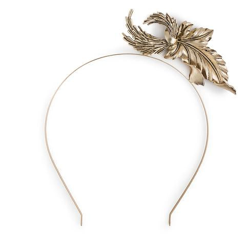 Kitte Heart of Glass Headpiece Gold
