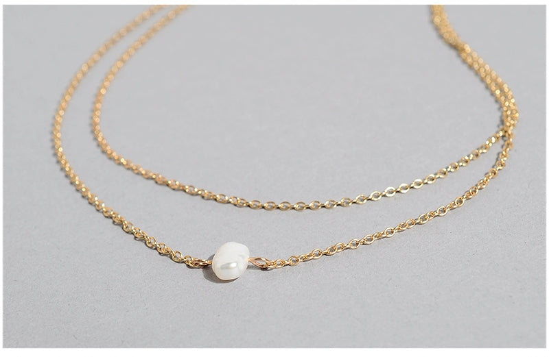 Luxe Essentials The Pearly Necklace