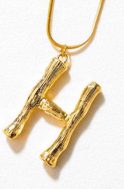 Luxe Essentials Initials Necklace G - L