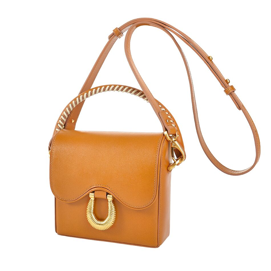 Sancia The Arabella Mini Bag Cognac
