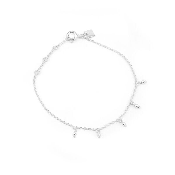 By Charlotte  Silver Blessing Bracelet