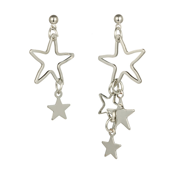 Luxe Essentials The Athena Earrings Silver