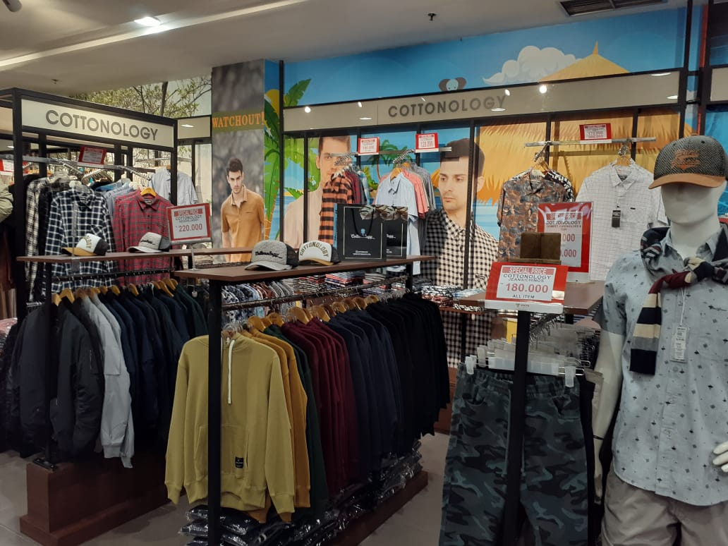 COTTONOLOGY DEPT STORE YOGYA CIWALK