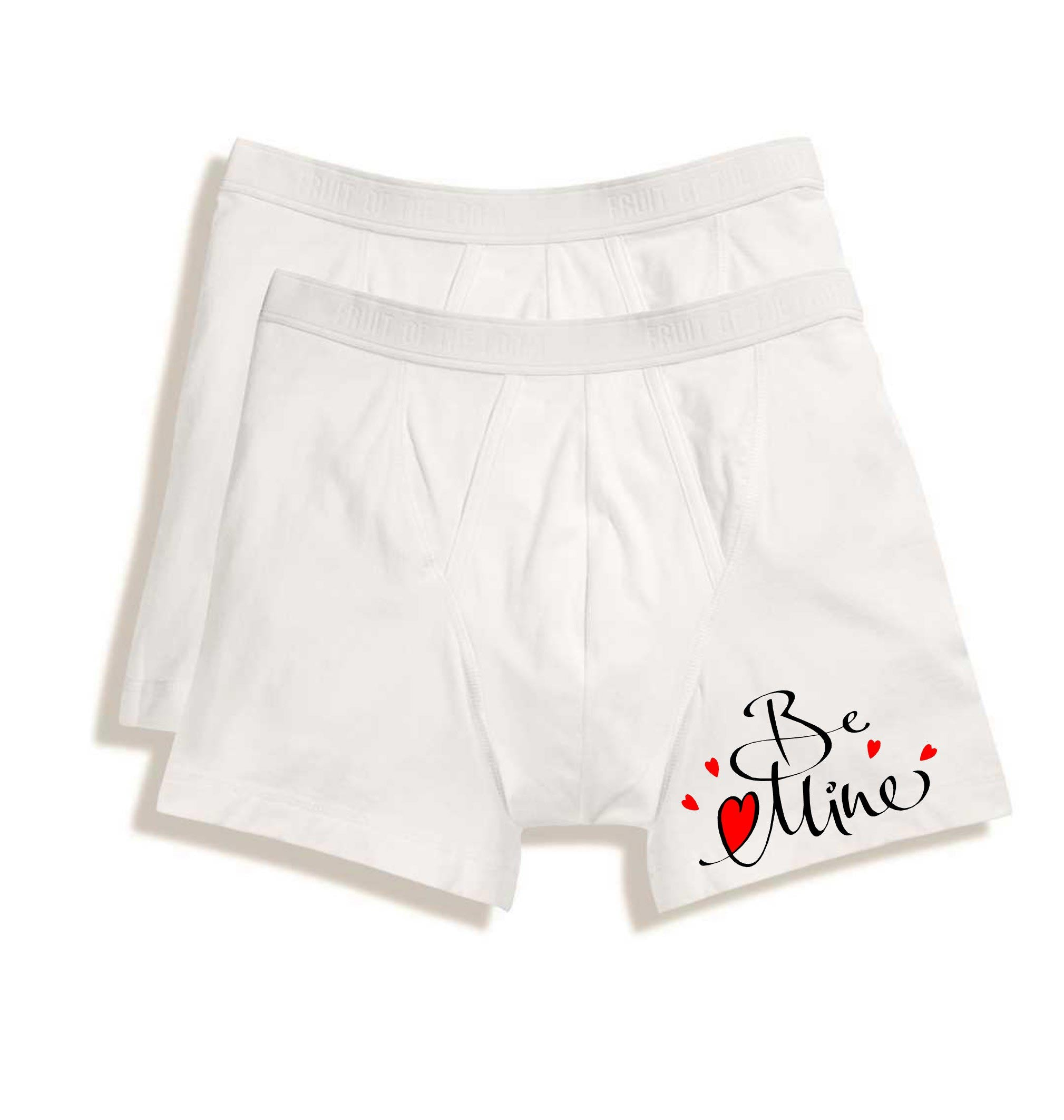 UNDERWEAR FOR MEN | BOXER BRIEFS - BE MINE - Georgie & Moon