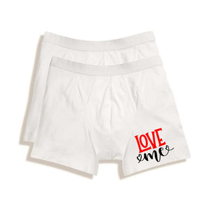 UNDERWEAR FOR MEN | BOXER BRIEFS - LOVE ME - Georgie & Moon
