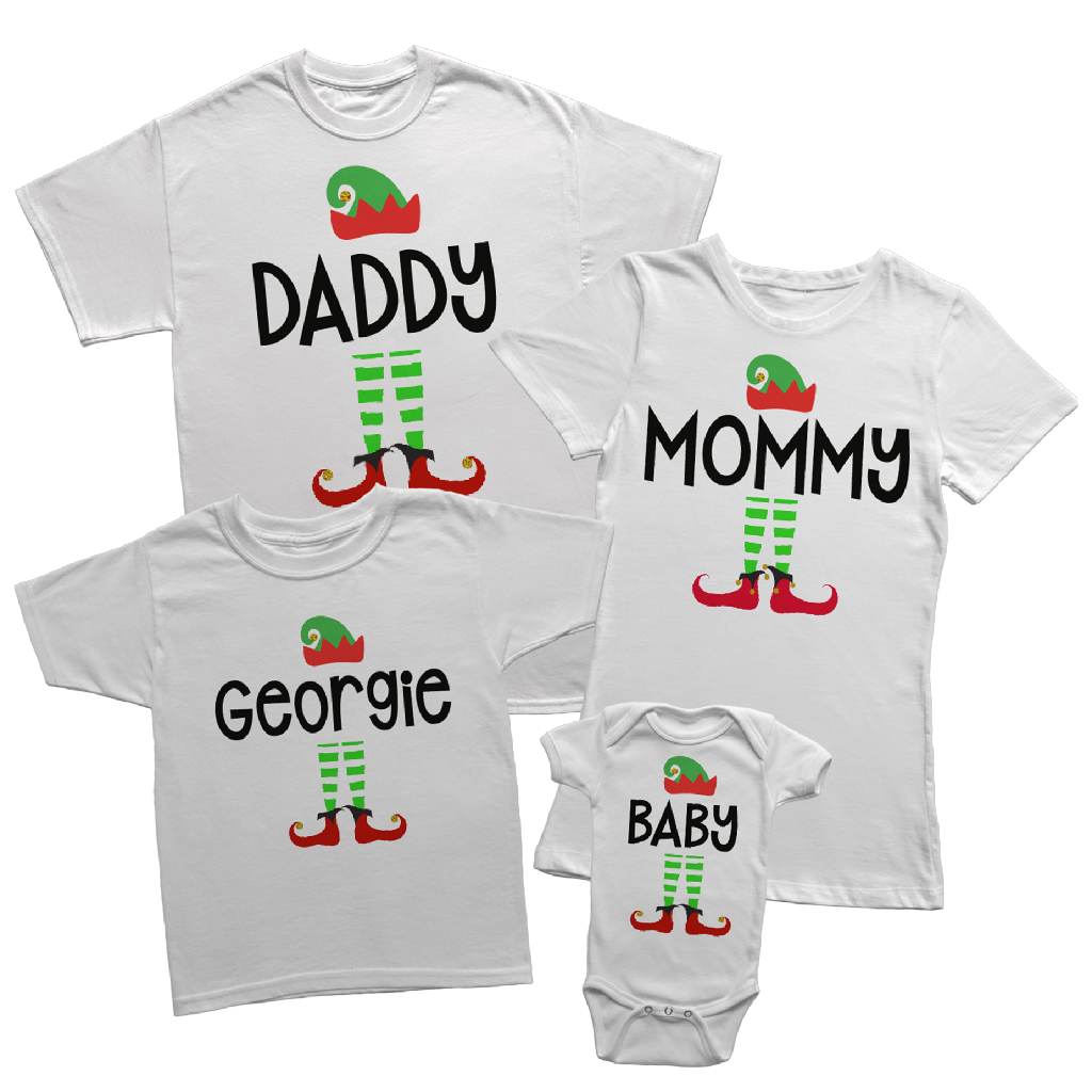 ELF FAMILY T SHIRT ETSF004 - Georgie & Moon
