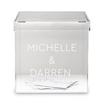 PERSPEX GIFT CARD BOX - Georgie & Moon