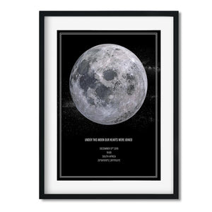 PERSONALISED MOON PHASE - UNDER THIS MOON | MM1 - Georgie & Moon