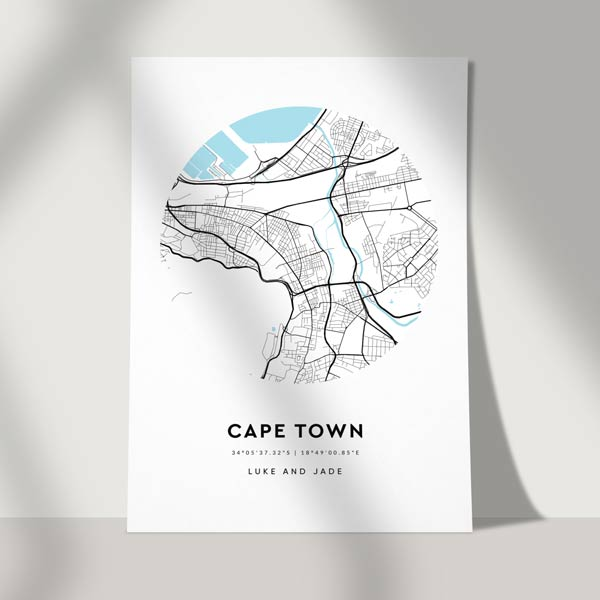 city map poster - location map poster - nifty poster copied