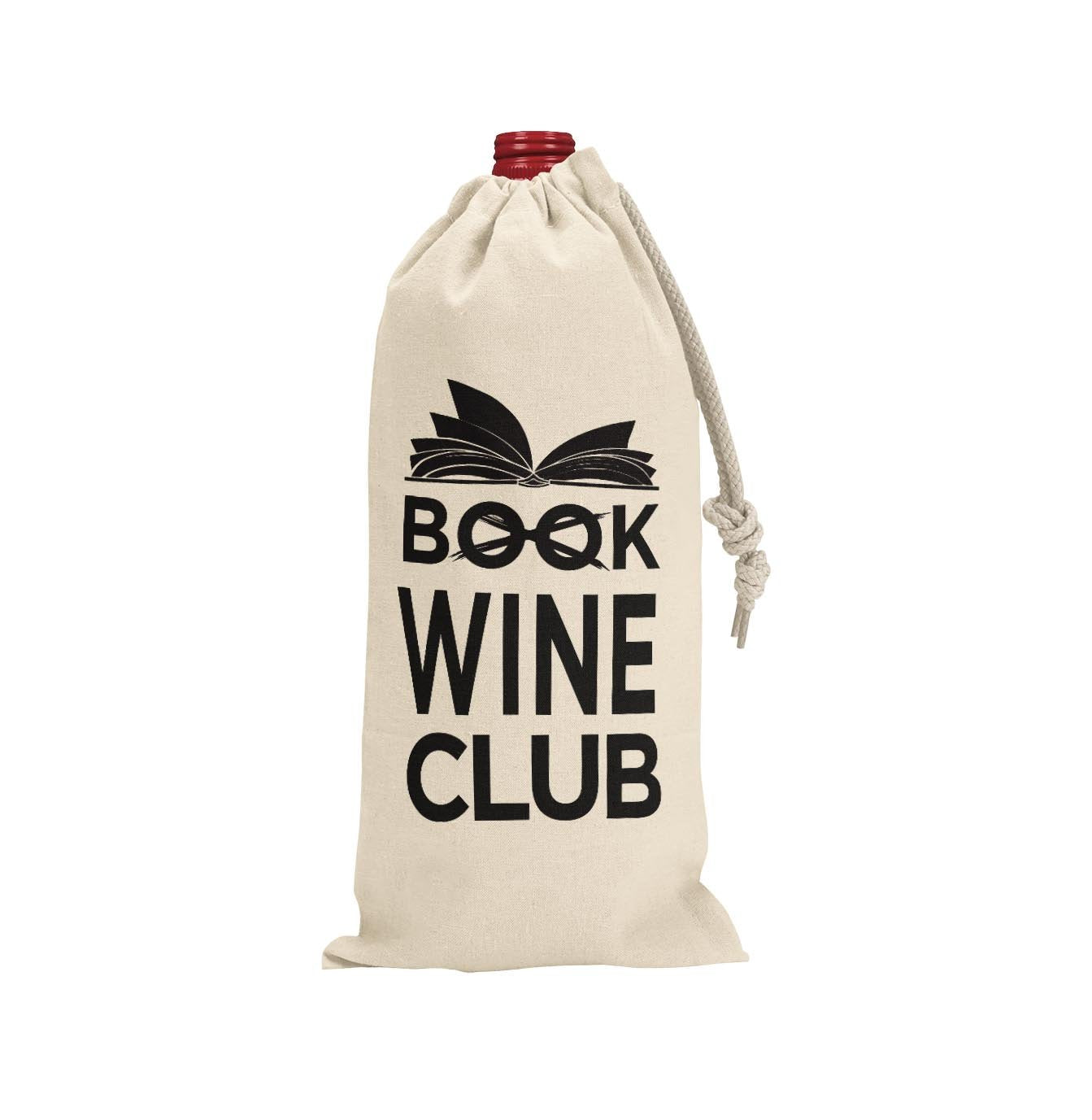 BOOK CLUB WINE BAG - Georgie & Moon