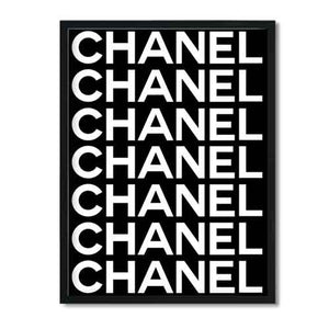 Coco Chanel, Coco Chanel Print, Fashion print, Coco Chanel poster, Coco Chanel wall art, Coco Chanel Decor, Black and white, Coco Print