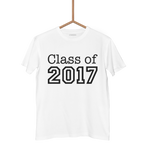 CLASS OF 2017 T SHIRT - Georgie & Moon