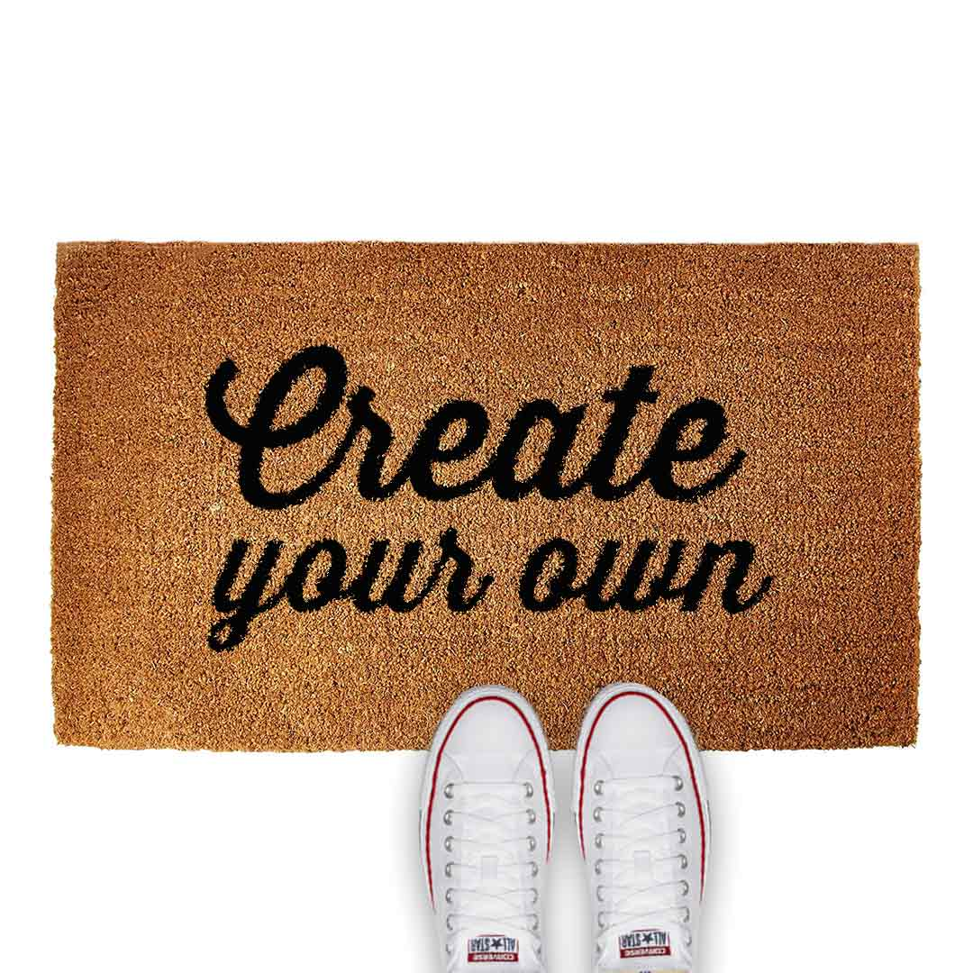 CREATE YOUR OWN DOOR MAT - Georgie & Moon