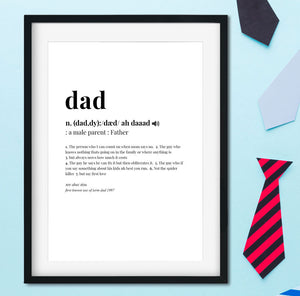 dad-frame-dictionary-quote