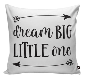 SCATTER PILLOW DREAM BIG LITTLE ONE - Georgie & Moon