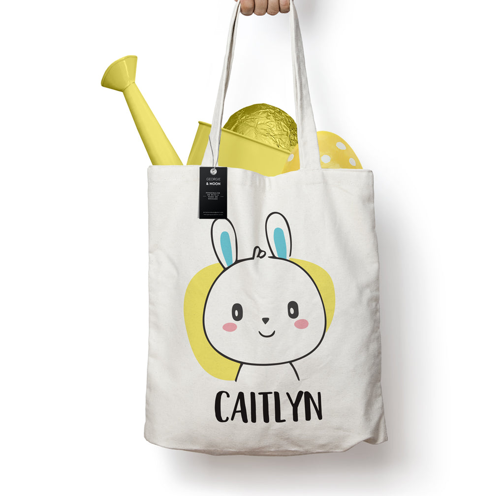 PERSONALISED EASTER TOTE BAG - Georgie & Moon