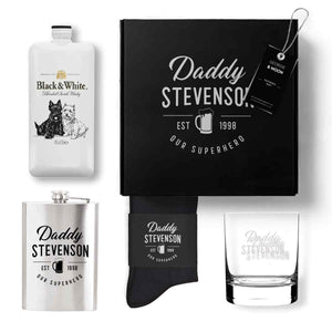 FATHERS DAY WHISKEY HAMPER - Georgie & Moon