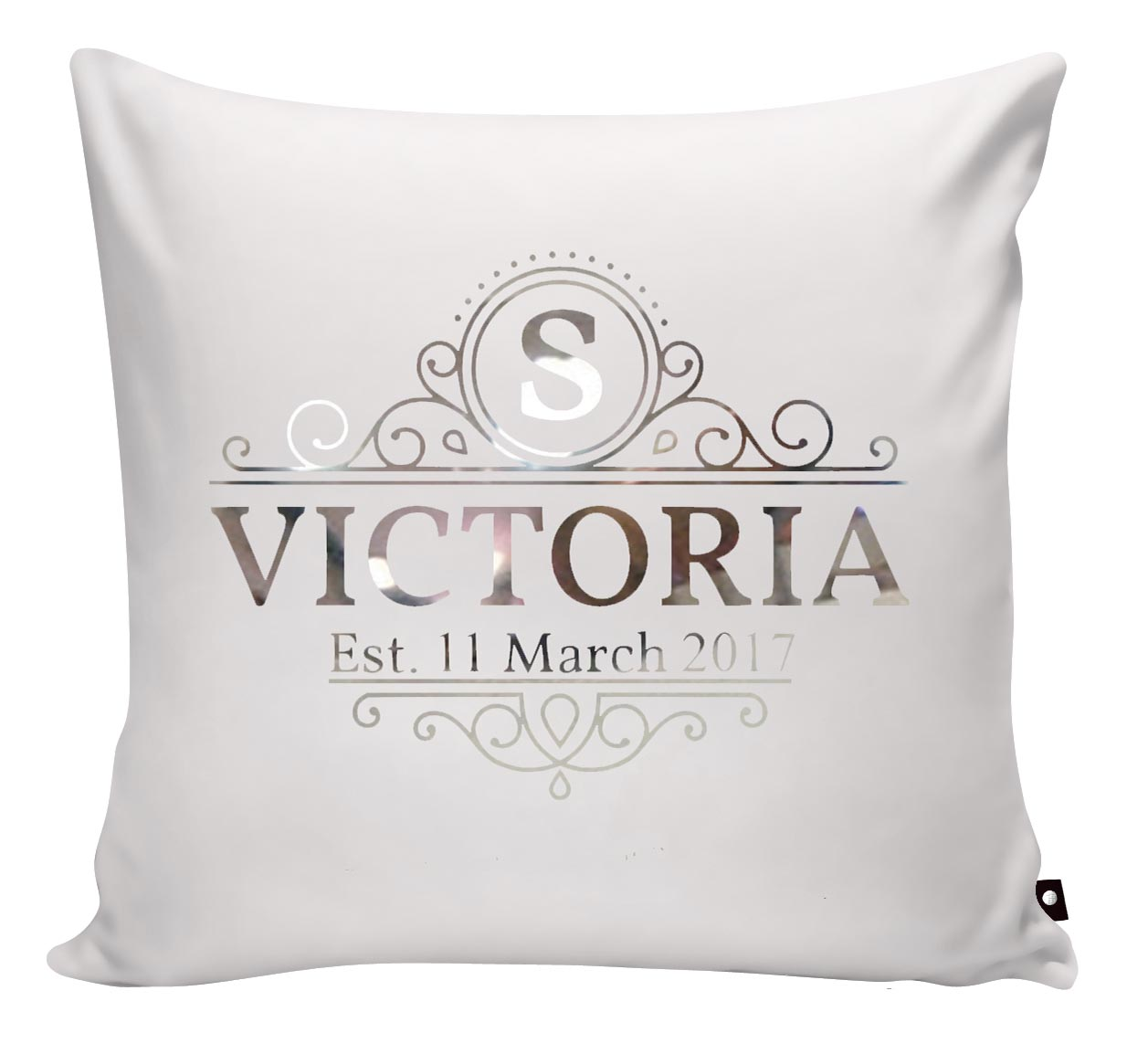 SCATTER PILLOW YOUR PERSONALISED MONOGRAM - Georgie & Moon