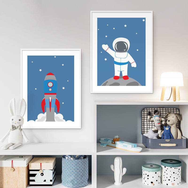 WALL ART PRINT - SPACE 1
