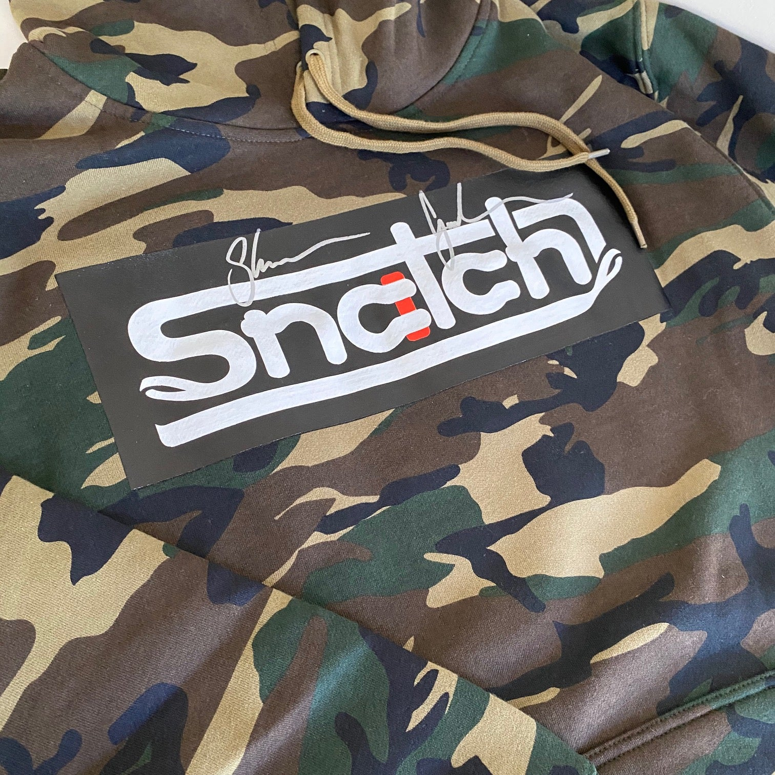 'Signature Edition' Green Snatch Camo Hoodie