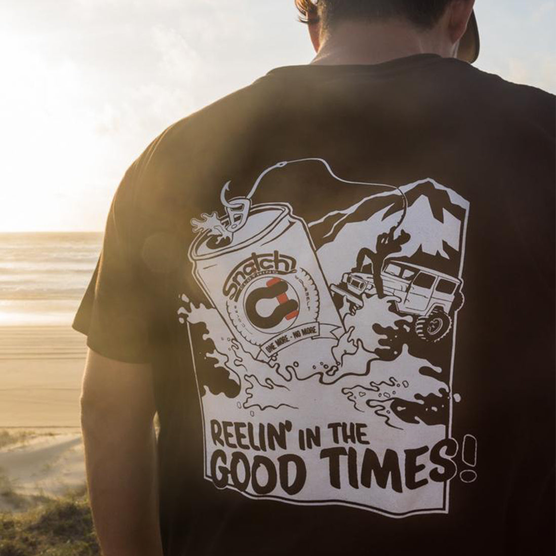 Reelin in the Good Times Tee
