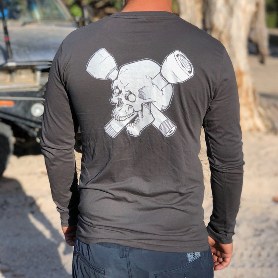 Skull & CV Long Sleeve