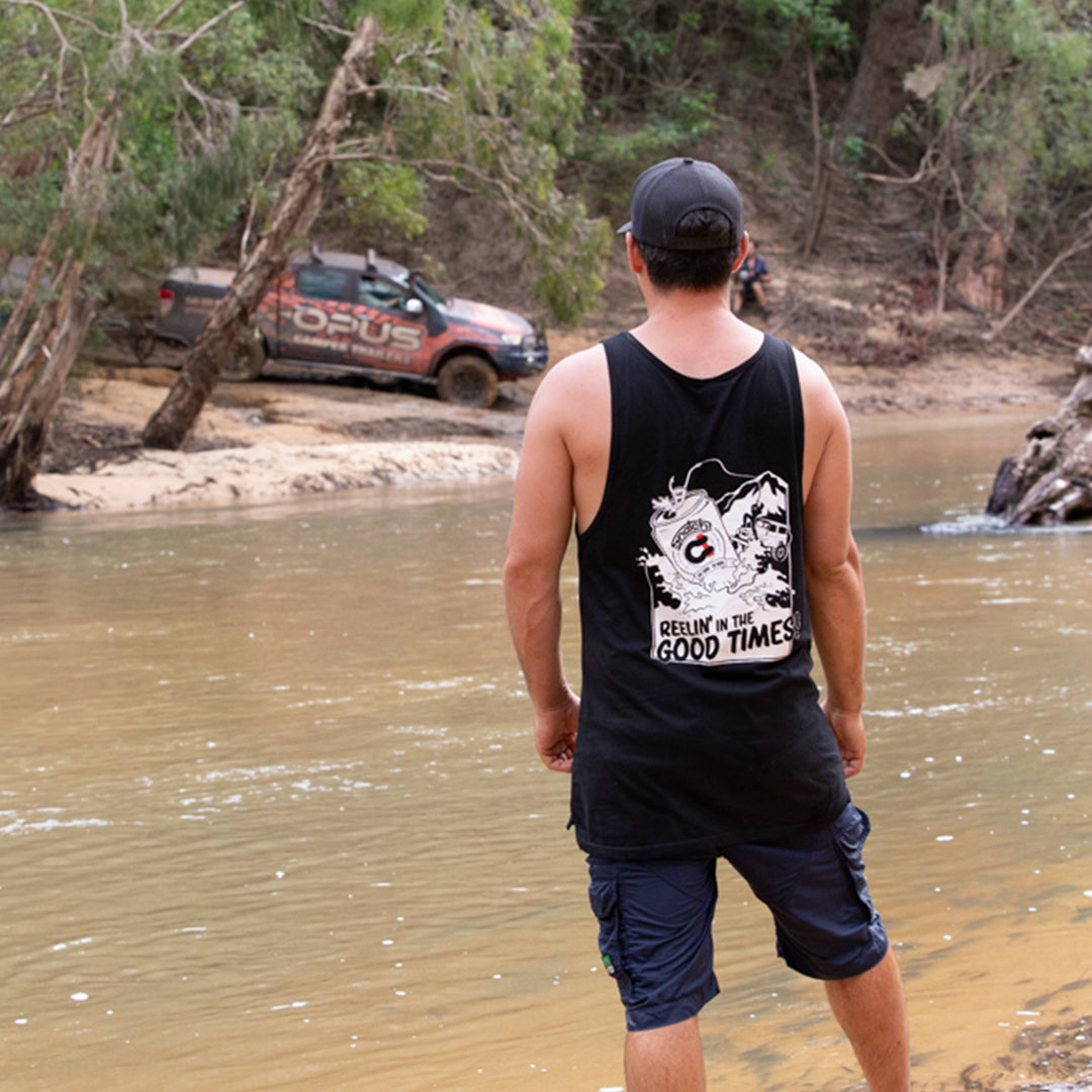 Reelin' in the Good Times Singlet