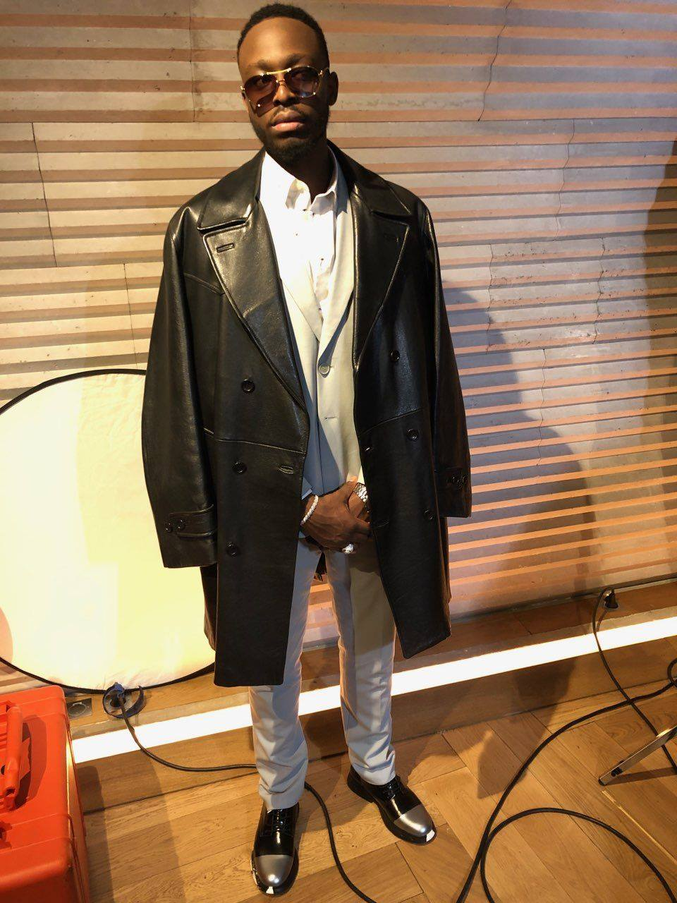 Singer Dadju spotted wearing our derbies Orvillo Lo Shade