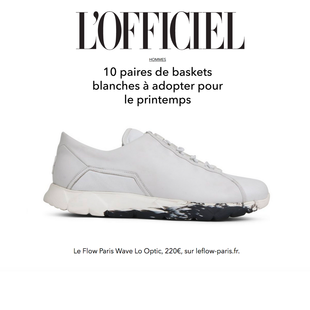 L'officiel In Wave Optic Our Sneakers Selection Lo Hommes Spring IY7gmb6yvf