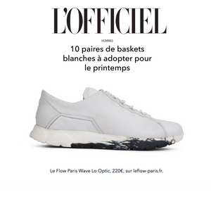 Our Wave Lo Optic Sneakers in L'Officiel Hommes Spring Selection