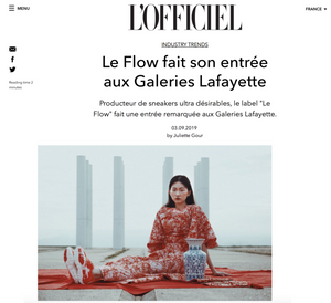 LE FLOW in L'OFFICIEL
