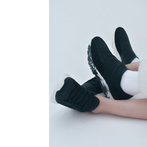 Slip-On Designer Sneakers Black⎜LE FLOW Paris