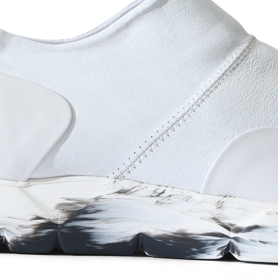 Slip-On Designer Sneakers White⎜LE FLOW Paris