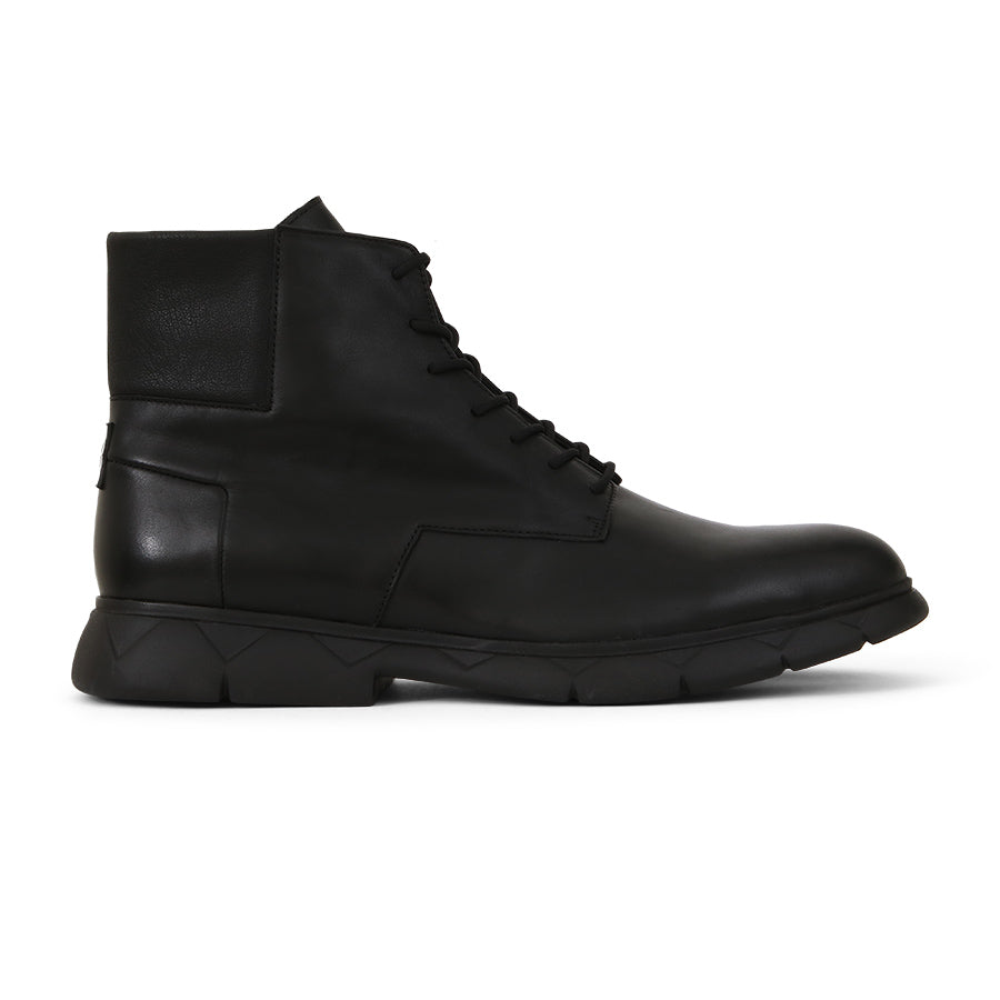 High Boots Black Leather Designer Shoes⎜LE FLOW Paris