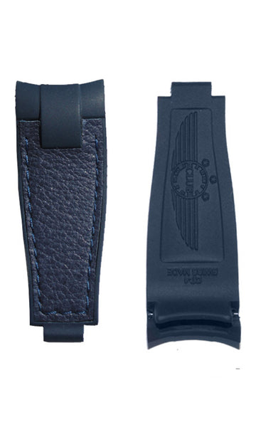 ClubStrap BiMaterial Blue on Blue