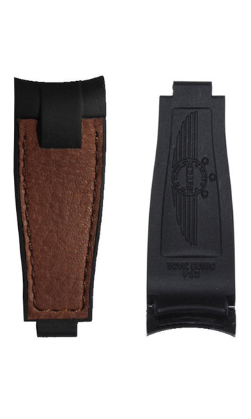 ClubStrap BiMaterial Brown on Black