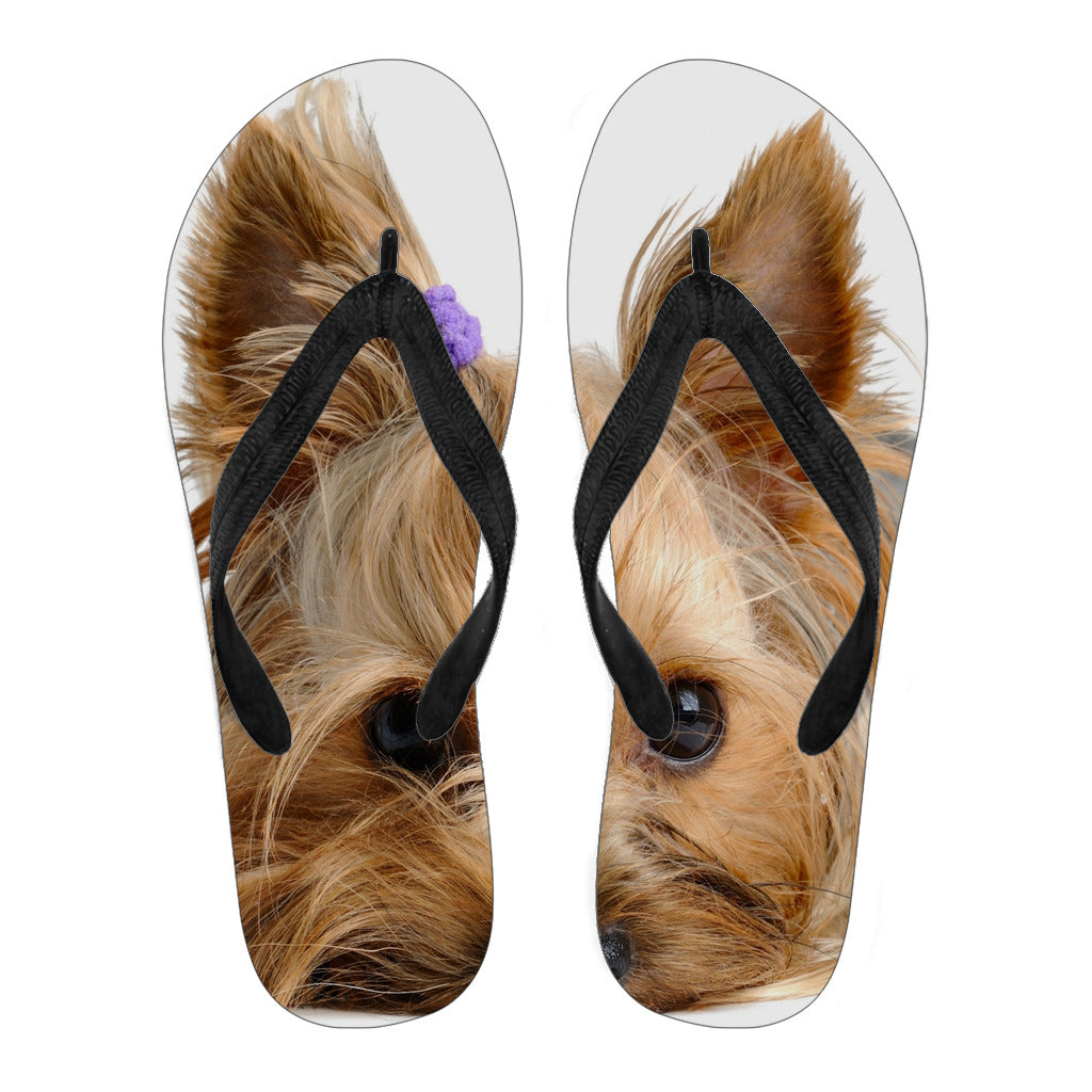 Dog Women's Flip Flops -  | Ziloda