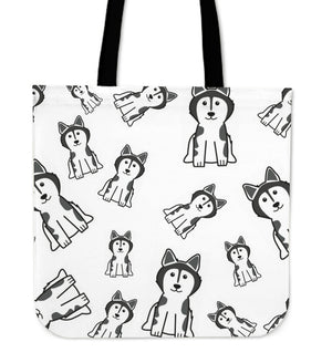 Cartoon Dog Tote Bag -  | Ziloda