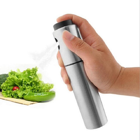 Stainless Steel Oil Pump Spray Bottle