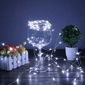 Battery Powered LED Fairy String Lights Strips - Led-nachtlichter | Ziloda
