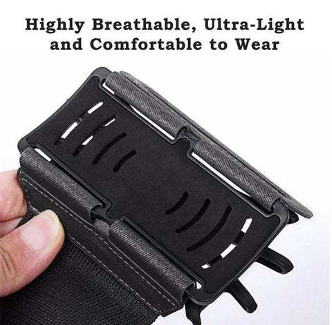 180 Degree Portable Sports Armband Phone Dock - Phone Accessories | Ziloda