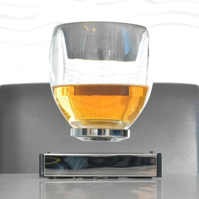 Levitating Cocktail Glass