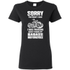 Image of Biker Tshirt - sorry - Apparel | Ziloda
