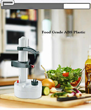 Multi-function Electric Vegetable Fruit 2-Spare Blade Peeler - Electric Peelers | Ziloda