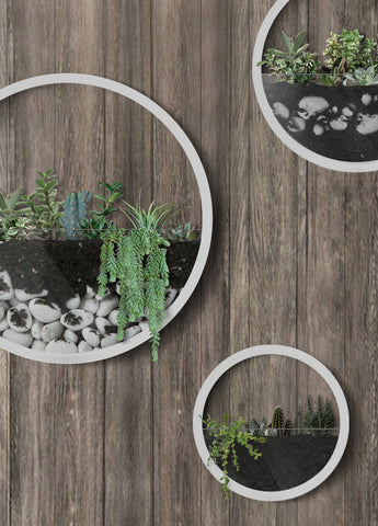 Creative Wall Hanging Artificial Flower Pot Holder - Vases | Ziloda