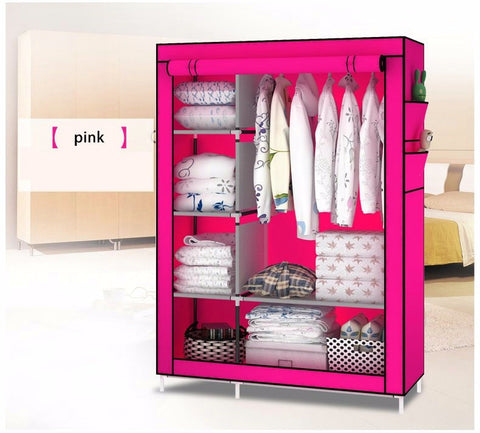 DIY Non-woven Foldable Storage Cabinet - Home | Ziloda