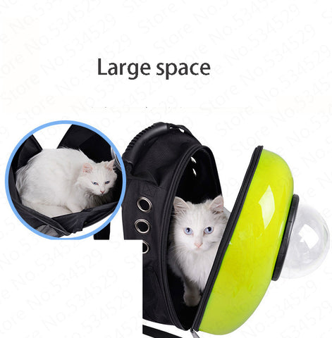 Outdoor Travel Portable Pet Carrier Breathable Backpack