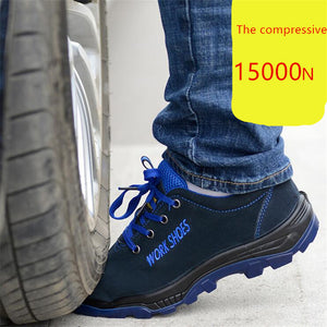 Men's Breathable Steel Toe Safety Shoes with Puncture Proof - Work & Safety Boots | Ziloda
